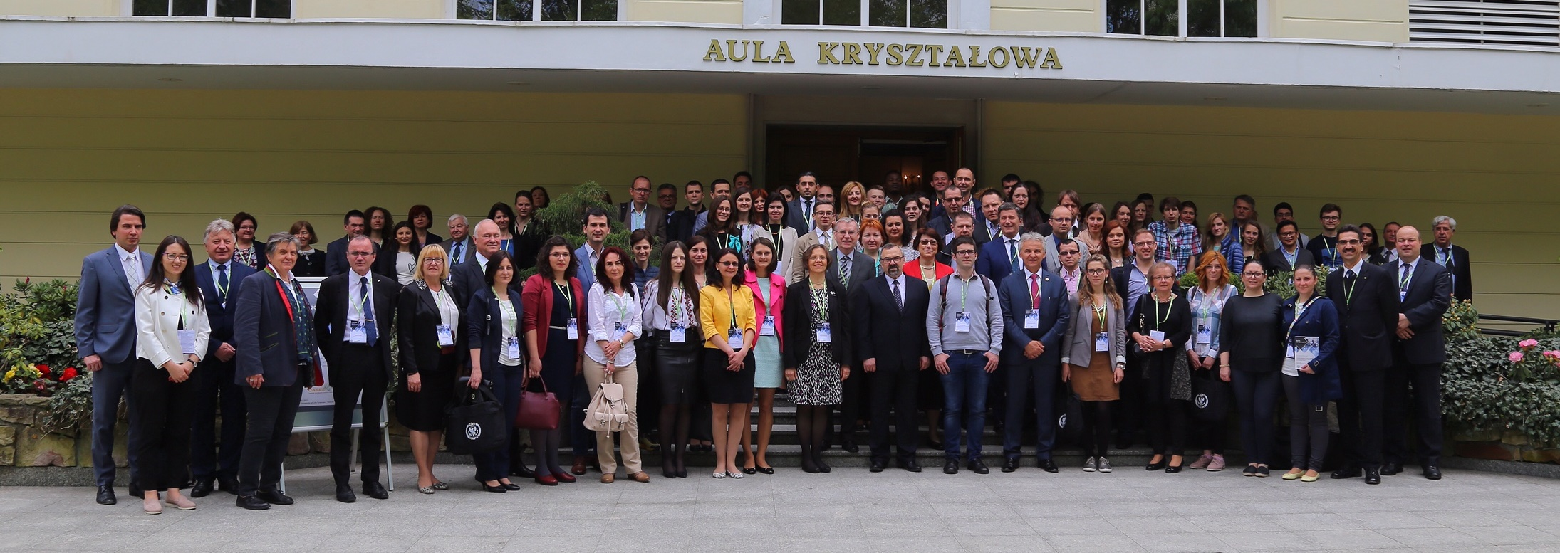 Group pictures CASEE Conference Nitra